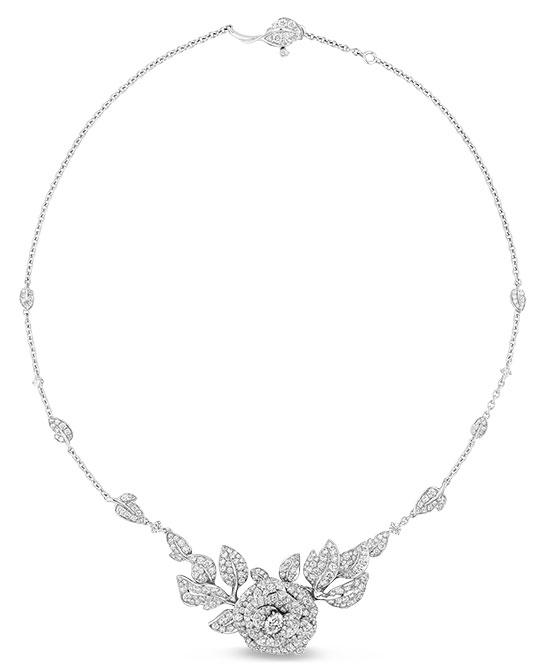Dior Rose dior bagatelle necklace