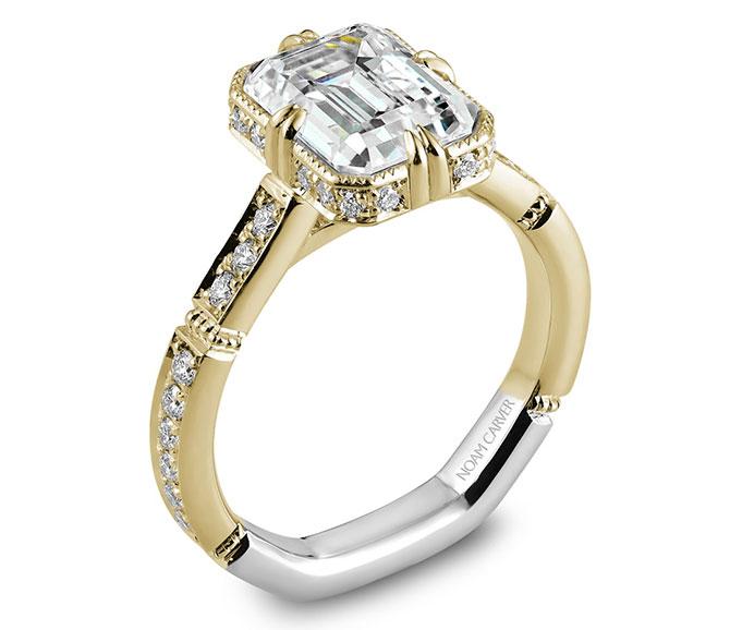 EI choice Crown Ring by Noam Carver bridal