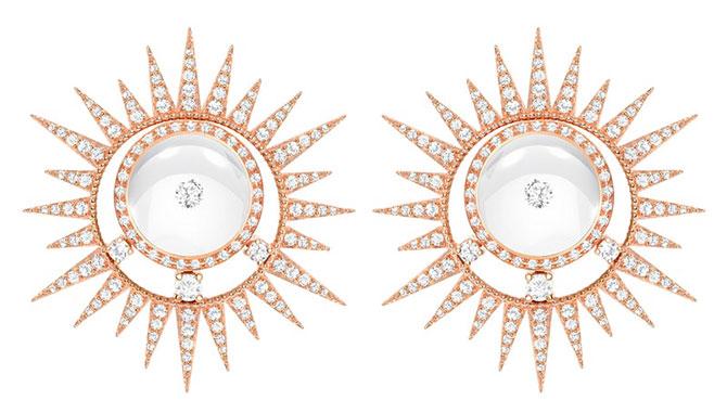 EI choice Setu Doshi rising sun earrings