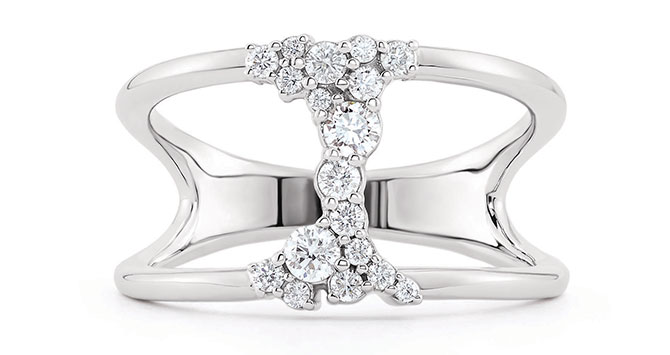 EI choice Stuller lab grown diamond ring