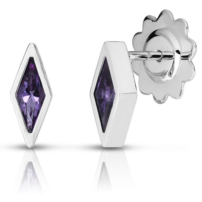Roberto Coin Frozen II amethyst earrings