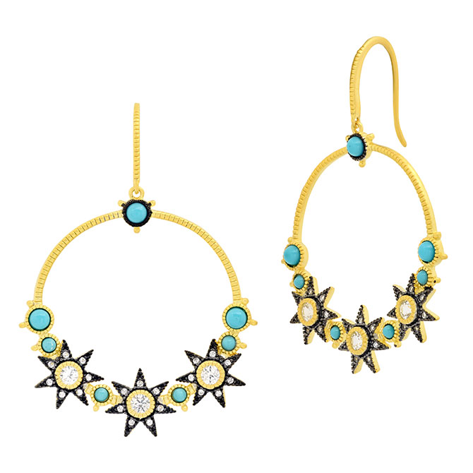 Freida Rothman Celestial earrings