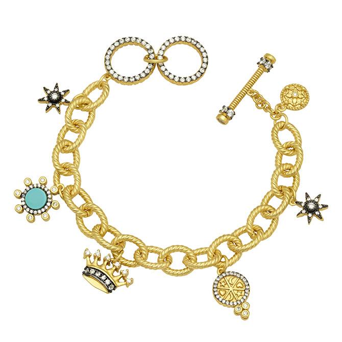 Freida Rothman charm bracelet