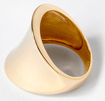 Gold One 1k gold ring
