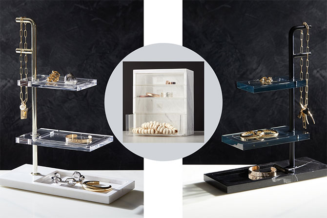 Jennifer Fisher x CB2 jewelry storage