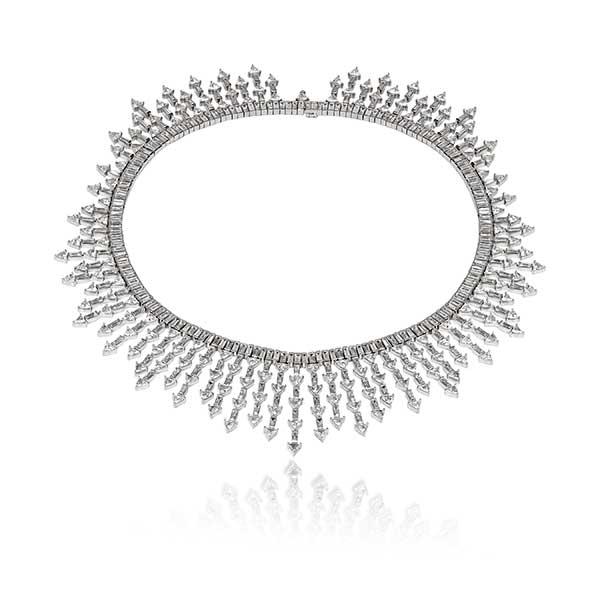 Lark & Berry x Diamond Foundry Necklace 64.5 cts. t.w.-