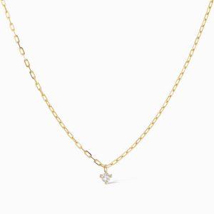Sophie Ratner floating diamond pendant