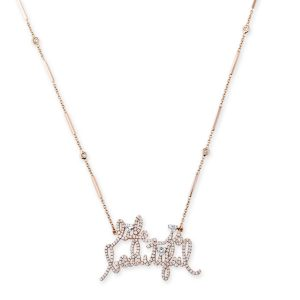 Jacquie Aiche Life is Beautiful necklace