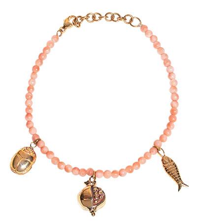 Pamela Love journey pink opal bracelet