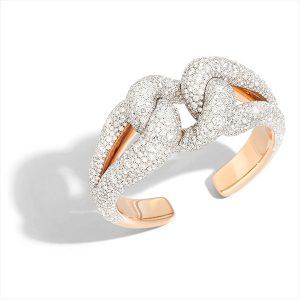 Pomellato tango rose gold cuff