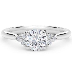 Forevermark platinum diamond engagement ring