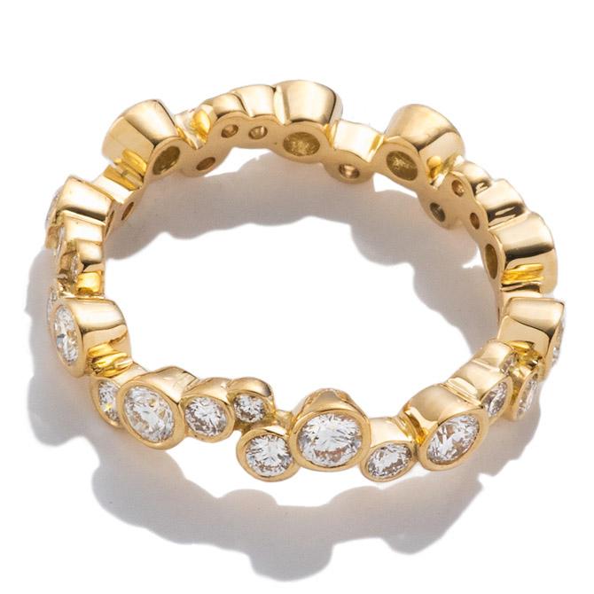 Pamela Love diamond pailette ring