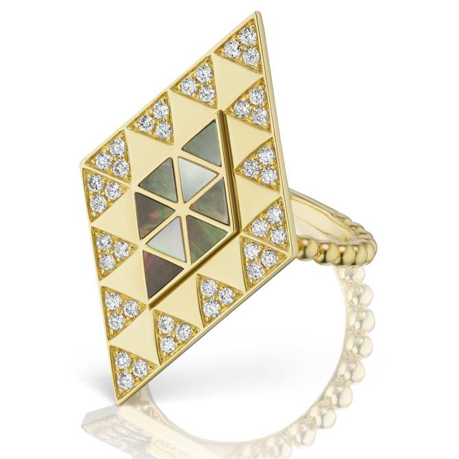 Harwell Godfrey Amina shield ring