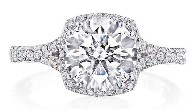 Tacori Dantela engagement ring