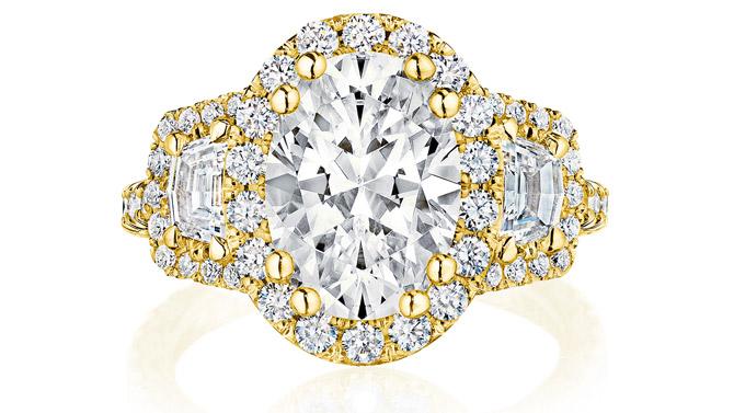 Tacori RoyalT oval engagement ring
