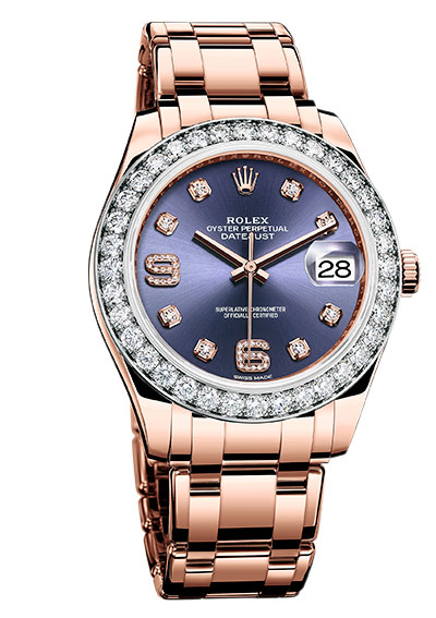 Rolex Pearlmaster Oyster perpetual datejust everose gold
