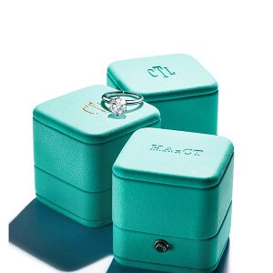 Tiffany ring boxes