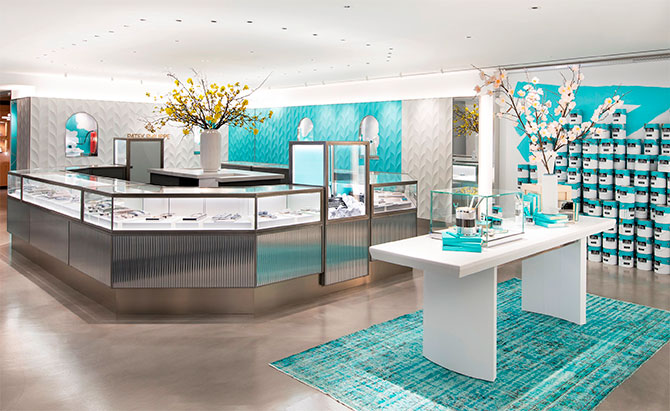 Tiffany temp flagship