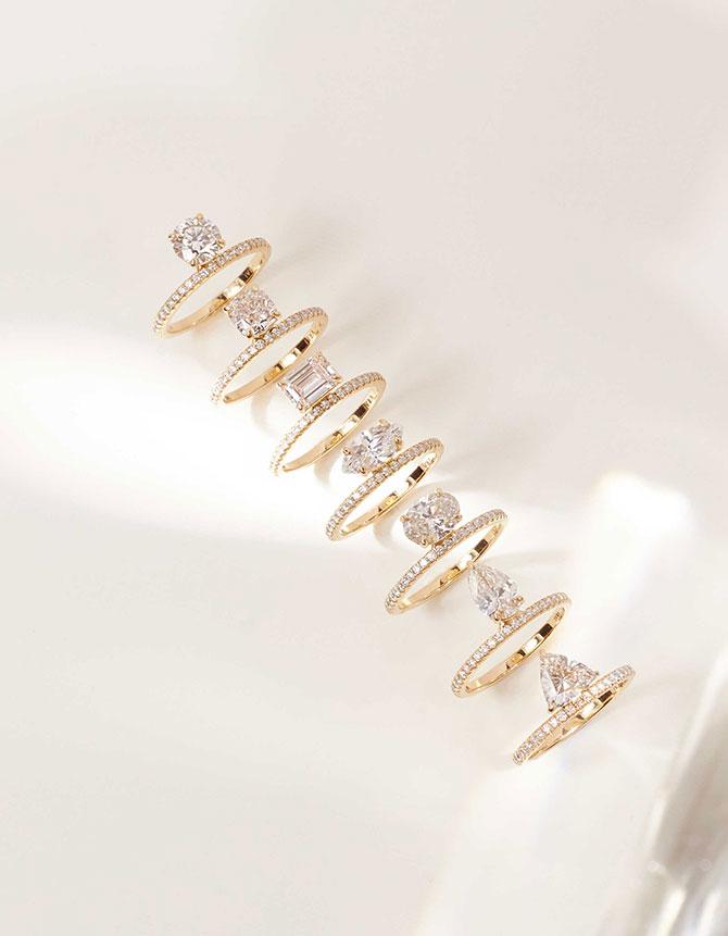Vrai Diamond Foundry lab-grown diamond engagement rings