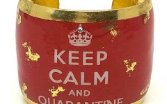 Evocateur Keep Calm and Quarantine bracelet
