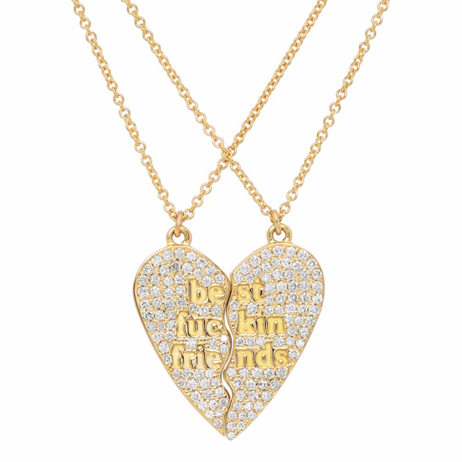 Established Jewelry best friends necklace
