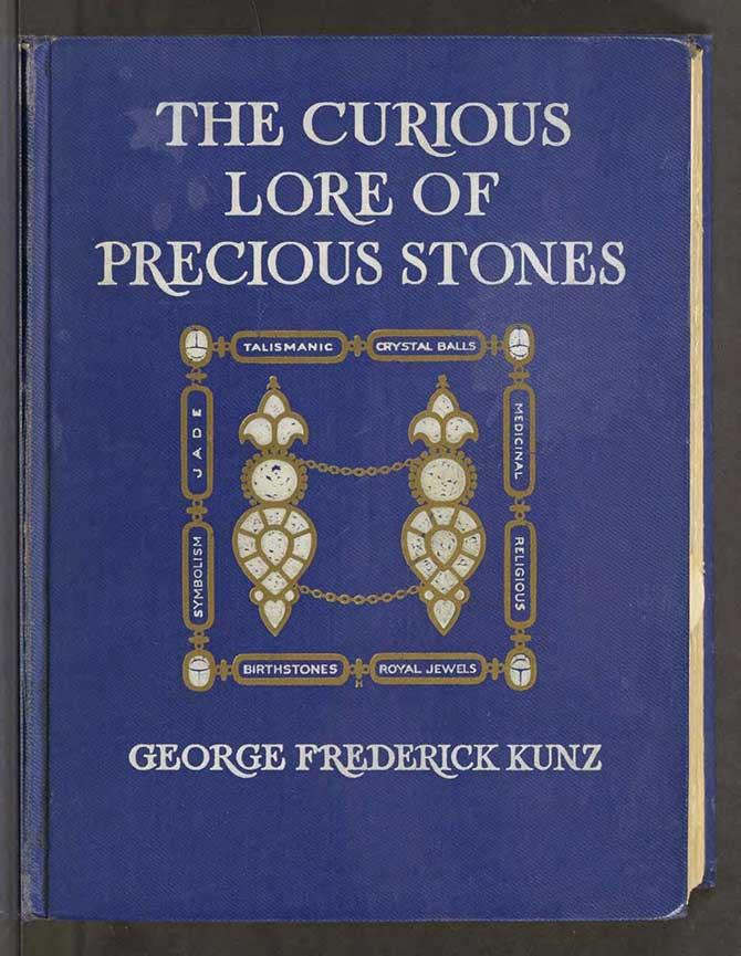 GIA Frederick Kunz book