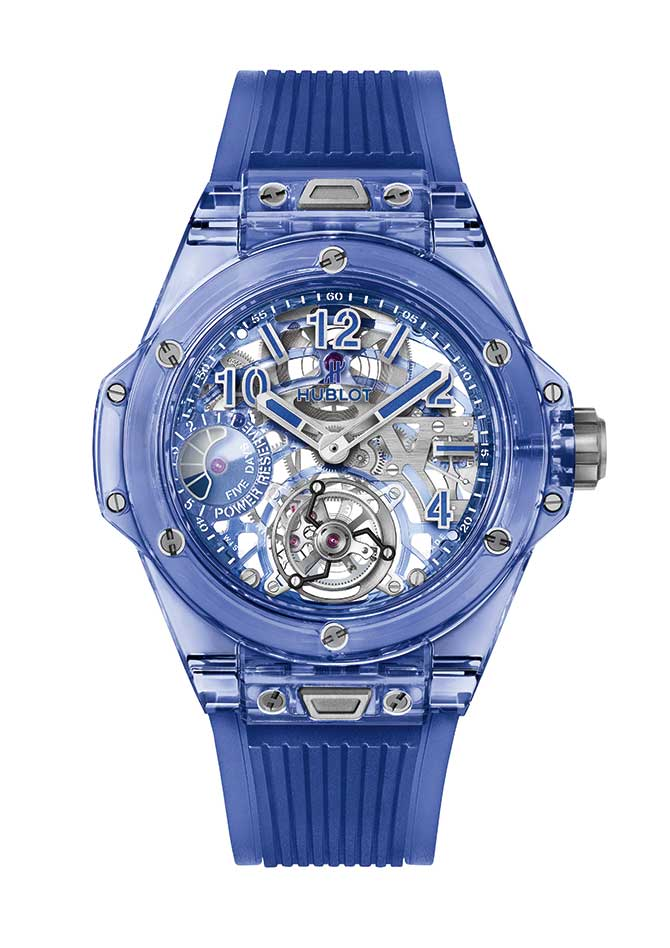 Hublot Big Bang Unico blue sapphire watch