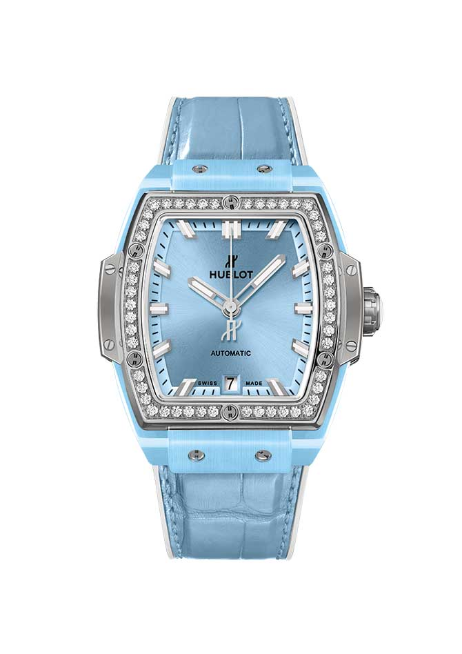 Hublot Blue ceramic watch