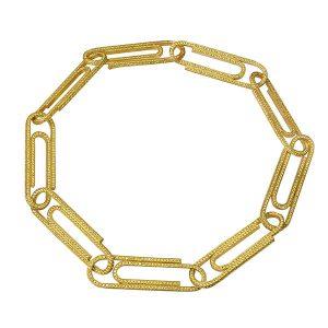 Jacob Co x Virgil yellow diamond bracelet
