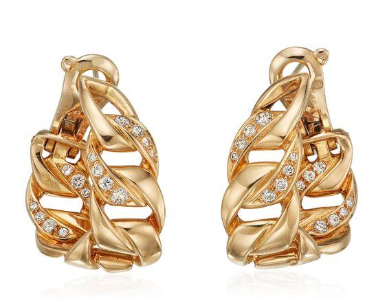 Lot 132 Cartier earrings