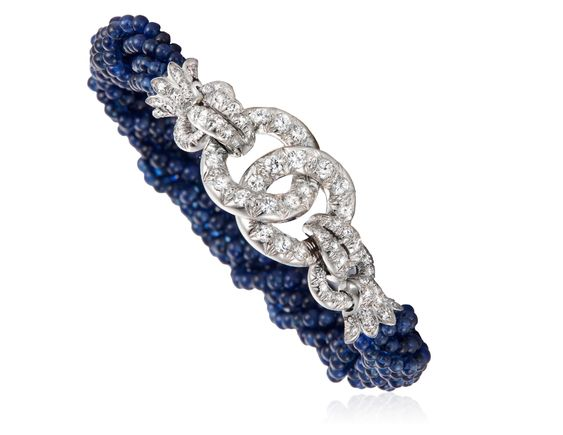 Lot 35 sapphire bracelet