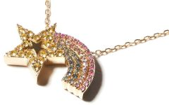 Campbell and Charlotte Juju shooting star necklace