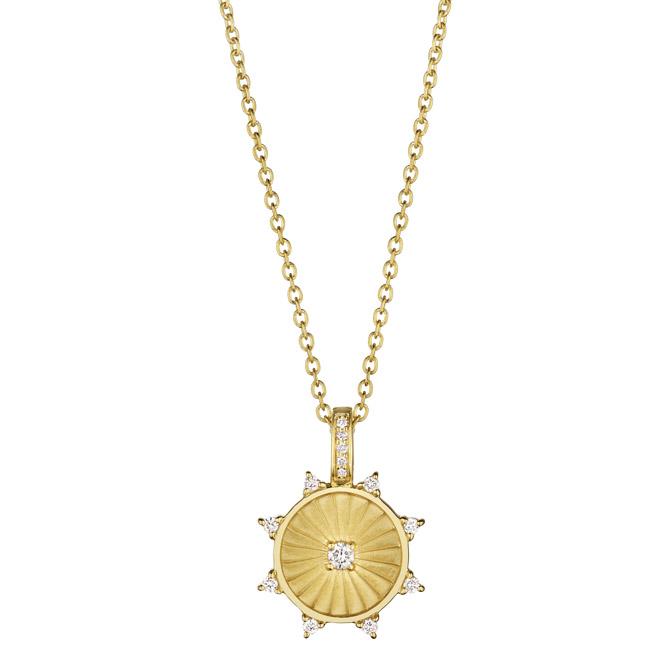 Penny Preville Nurturer medallion pendant