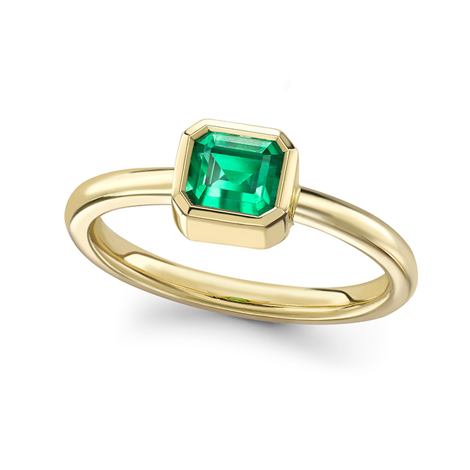 Theo Fennell emerald ring