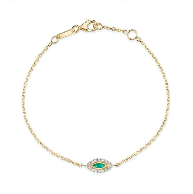 Anita Ko evil eye bracelet
