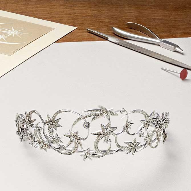 Chaumet Etoiles tiara