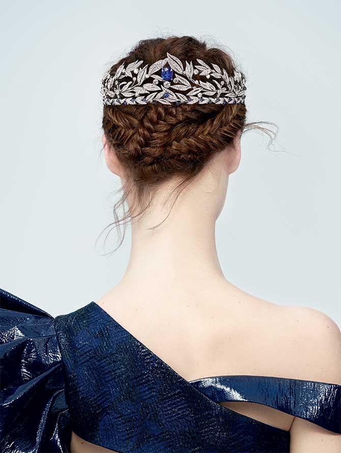 Chaumet Firmament Apollinien tiara