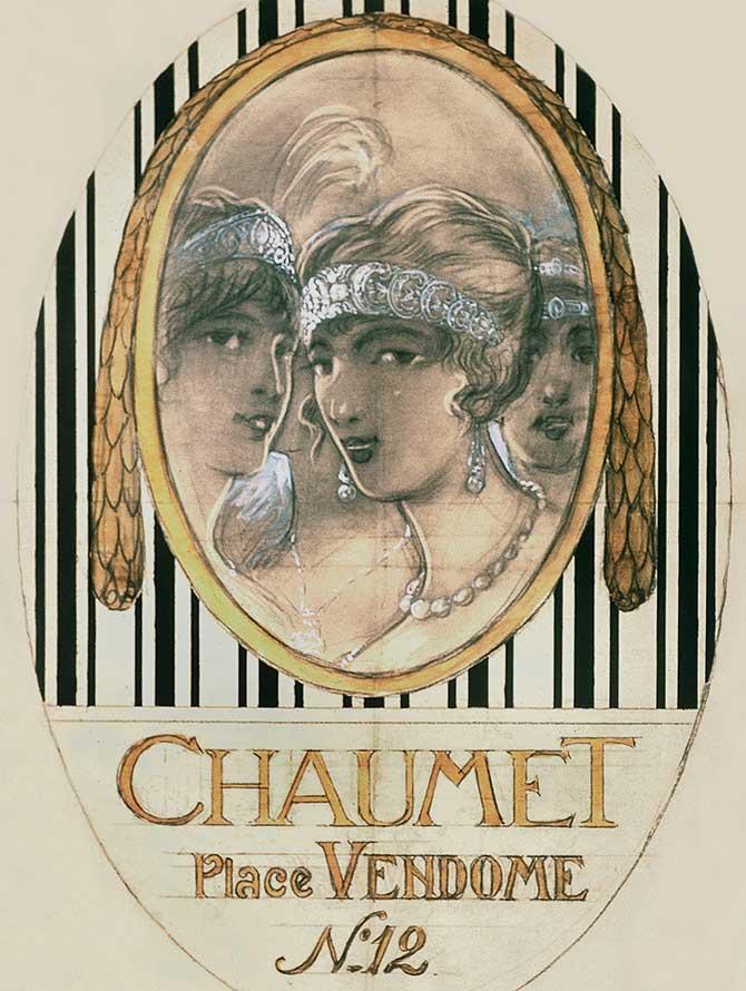Chaumet ad 1920