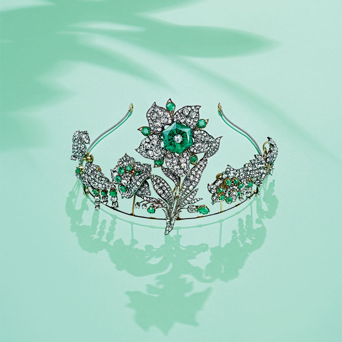 Chaumet emerald tiara