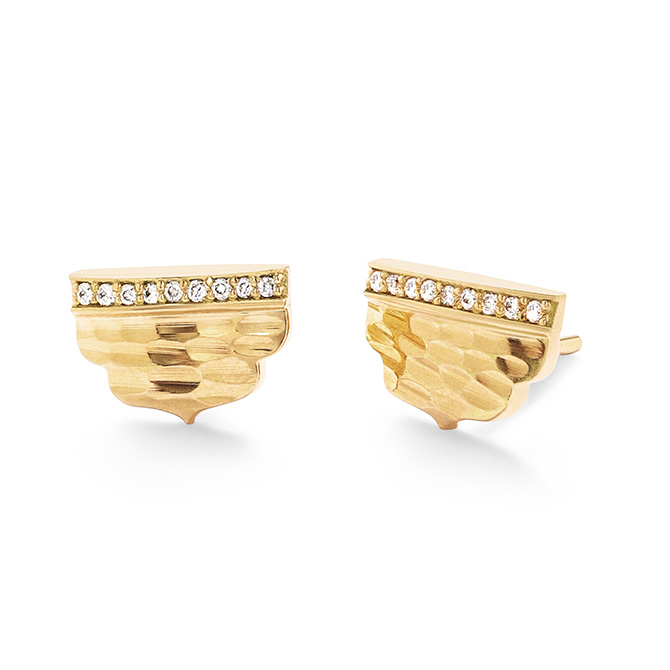 Dana Bronfman Agra stud earrings