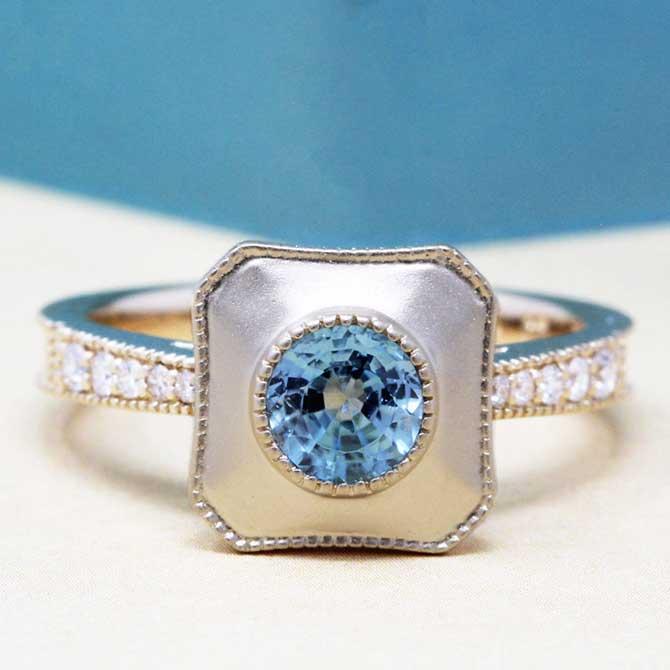 Daniel Diamonds Iris ring