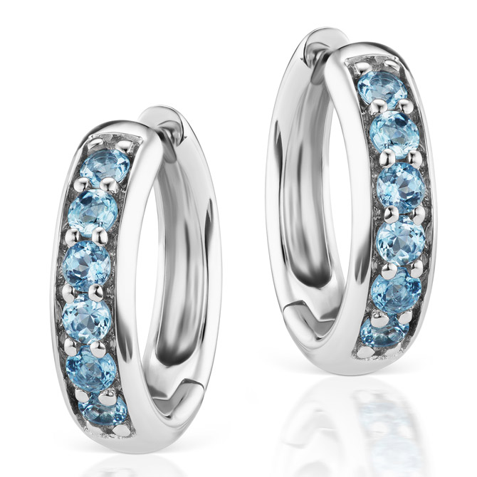 Jane Taylor Cirque classic hoop earrings