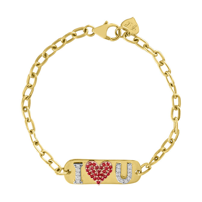 Eden Presley I love you bracelet