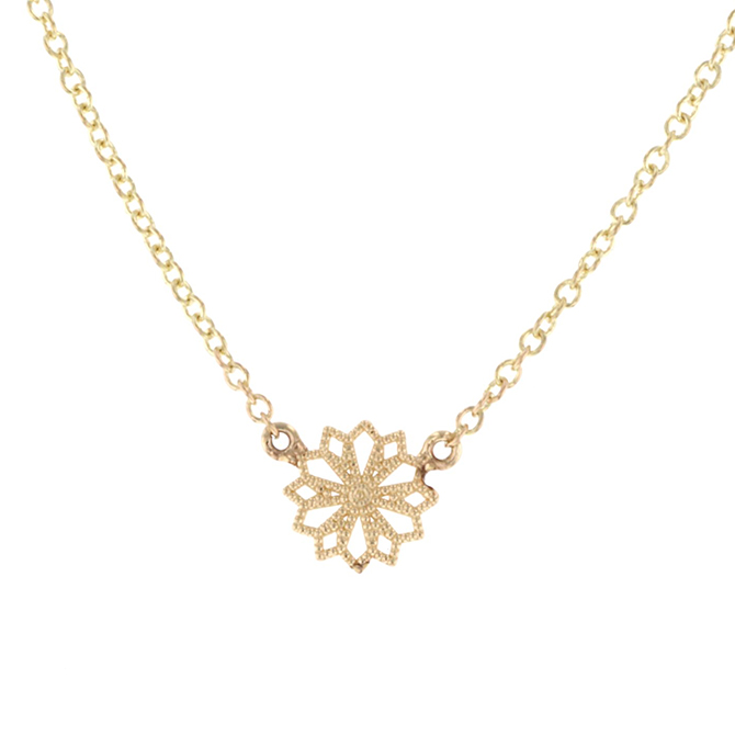 Grace Le Mini Lace Deco Necklace VI