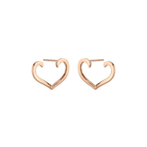 Halleh Heart earrings