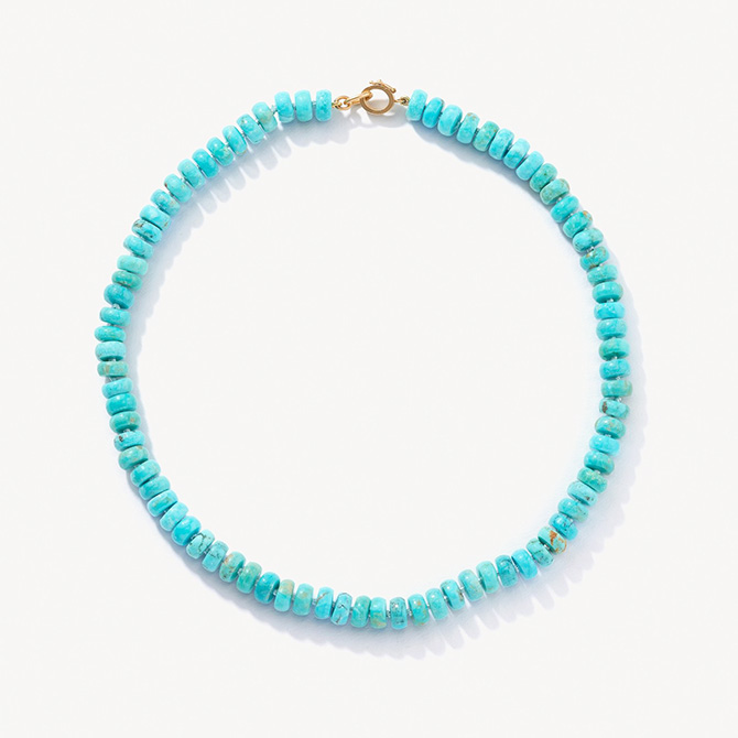 Irene Neuwirth beaded candy necklace