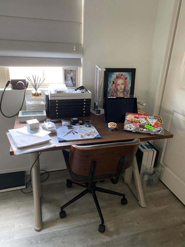 Jenifer Thai work space