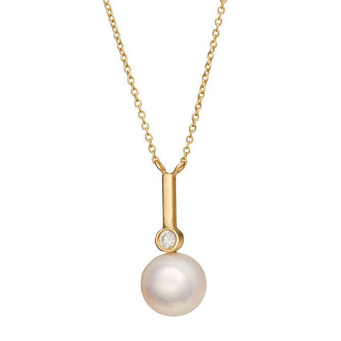 Katey Walker pearl necklace