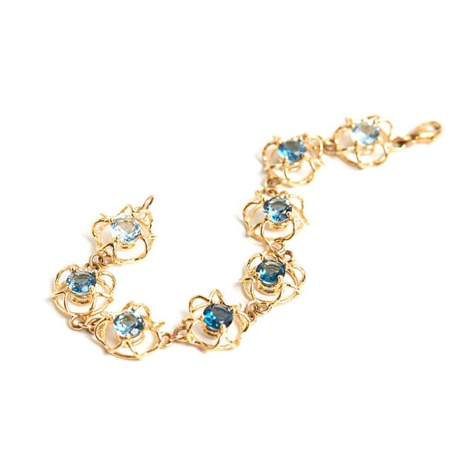 Laura Caspi Radiolaria bracelet