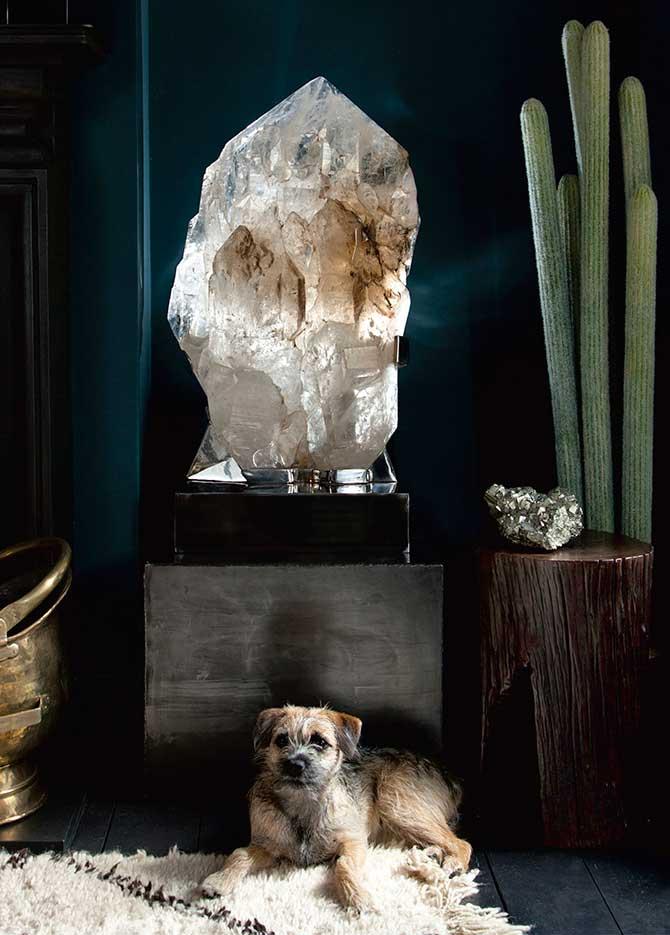 New Stone Age smoky quartz